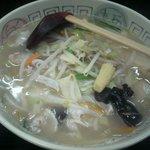 中国家庭料理 家京 - 野菜タンメン670円