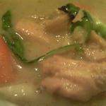 ガムランディー - グリーンカレーの具を救ってみた。緑のはパクチー、独特の味わいがやみつきになる!