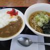 山田うどん - 料理写真:朝カレーセット(蕎麦)290円
