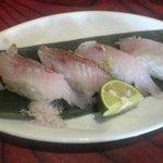 えぼし - 「のどくろ」の寿司