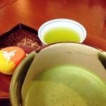 17003509 - 抹茶と和菓子