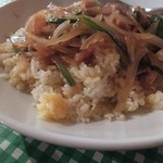 味かね食堂 - チャーハンは米がダマに…