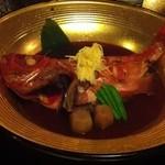 河津海苑 - 料理写真:金目鯛の煮付け