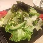 板門亭吉岡 - 板門亭サラダ(2〜3人前)¥630  チョレギ風塩味