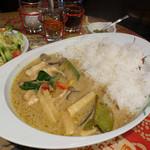 Makan - グリーンカレー(辛口)