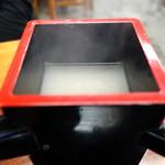 蕎麦游膳 阿部 - 美味しい牡丹そばの蕎麦湯