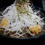 蕎麦游膳 阿部 - ぶっかけ蕎麦(\1050)