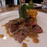 トラットリアコローレ - 牛肉のグリルマスタード