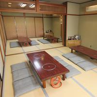 最大60名様までご宴会可能な座敷席!!