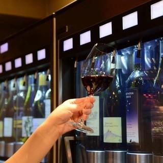 イタリア製専用ワインサービングマシン