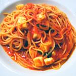 La Stagione - モッツァレラとバジルのトマトソース スパケッティ