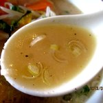 ラーメンみたけ - クリーミーでマイルドな味噌スープ!(2013,01/26)
