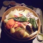 雫NO庭 - ほほぅ〜!野菜盛りだくさん!