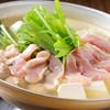 きんぱち - 料理写真:コラーゲンたっぷりの『鶏スープ鍋(鶏団子入)