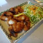 いかりやレストラン デミタス - 真蛸の唐揚げ