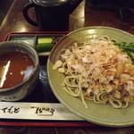 佐佳枝亭 - 「辛味大根おろし蕎麦」700円