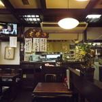 佐佳枝亭 - 厨房に向かってパチリ