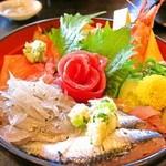 魚河岸割烹さかなや千本一 - 魚河岸海鮮丼