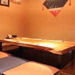 四季旬彩 ありき - 個室7名様、各種宴会、商談などにもお使いください