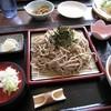 蕎麦CAFE 福 - 料理写真:ざる蕎麦大盛り800円