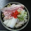 高砂舎 - 料理写真:ミックスのお好み焼き