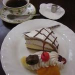 明日香 - ケーキ&ドリンクセット