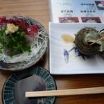 磯料理 魚の「カネあ」 - 生しらす630円