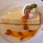 ノース・サイド・カフェ - ハニー・リコッタチーズケーキ 580円