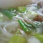 シェムリアップ - スープは薄味なので・・