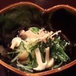 雲海 - 【天麩羅御膳】小鉢。