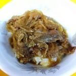 蘭々 - 牛半丼