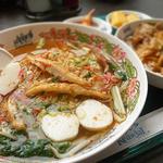 タイ国料理 ゲウチャイ - クイティオ・ルークチン・プラー