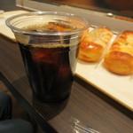HOKUO - アイスコーヒー       230円