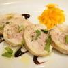 ラシーヌ - 料理写真:豚挽肉と鶏肉のガランティーヌ。