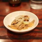 道頓堀 - 料理写真:お通し (ちゃあしゅう)