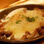 CAFE RIGOLETTO - ホワイトアスパラガスと卵のオーブン焼き~トリュフの香り~