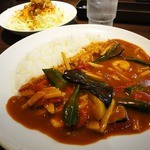 CoCo壱番屋 - 料理写真:タイ レッドカレー(880円)