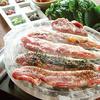 金山ソウル - 料理写真:10種の包み野菜で食べるべジ・サムギョプサル