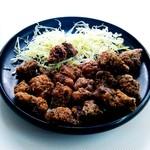 鯨食堂 - 料理写真:鯨竜田揚