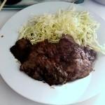 鯨食堂 - 料理写真:鯨ステーキ
