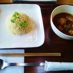 和sian-cafe aimaki - マッサマンカレー(13年2月)
