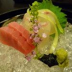 神戸 吉兆 - ☆お造りは鯛&鮪の2種盛り(^v^)☆