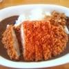 アリエスカ - 料理写真:がっつり!!肉厚カツカレー¥1200