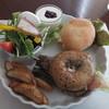 ヒカリノカフェ - 料理写真:パンプレートセット(1,200円)ドリンク、デザート付き