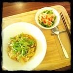 元町カフェ - 豆腐ハンバーグ丼