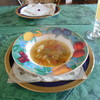 イングルウッド・アルフォンソ - 料理写真:イタリアンランチコース ¥1500 まずスープ…
