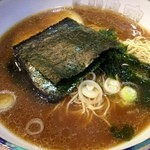 田島家 - 醤油ラーメン中盛り