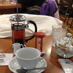 カフェ モロゾフ - 紅茶(¥500)