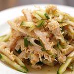 中国家庭料理 楊 - くらげと胡瓜