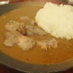 ダッチオーブン - やわらかラムのルーカリー(¥1,280) 2013.02
